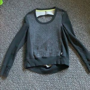 Victoria's Secret Sport sweater with keyhole back